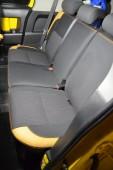 Чехлы для салона Toyota FJ Cruiser (авточехлы на сиденья Тойота