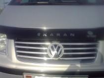 Хром накладки на решетку радиатора Фольксваген Шаран 1 (хромированные накладки на решетку радиатора Volkswagen Sharan 1)