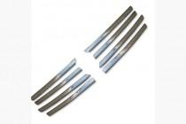 Хром накладки на решетку радиатора Фольксваген Транспортер Т4 (хромированные накладки на решетку радиатора Volkswagen Transporte