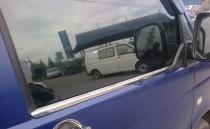 Хромированные молдинги стекол Фольксваген Транспортер Т4 (хром нижние молдинги стекол Volkswagen Transporter T4)