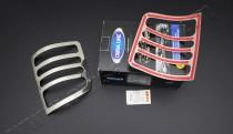 Установка хромированных окантовок на задние стопы Фольксваген Т5
