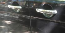 Хром накладки на ручки Фольксваген Транспортер Т5 (хромированные накладки на дверные ручки Volkswagen Transporter T5)