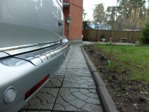 Хромированная кромка багажника Фольксваген Транспортер Т5 (хром нижняя кромка крышки багажника Volkswagen Transporter T5)