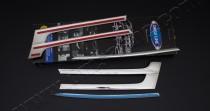 Комплект хром накладок на решетку для Volkswagen Transporter t5