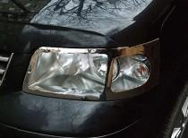 хромированная окантовка фар Фольксваген Транспортер Т5