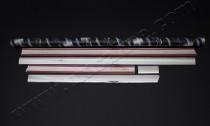 Комплект хромированных накладок на двери Фольксваген Транспортер