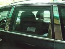 Хромированные молдинги стекол Фольксваген Туарег 1 (хром нижние молдинги стекол Volkswagen Touareg 1)