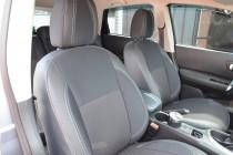 Чехлы для авто Ниссан Кашкай +2 (авточехлы на сиденья Nissan Qas