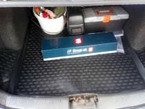Коврик в багажник Шкода Фабия 2 универсал (автомобильный коврик багажника Skoda Fabia 2 combi)