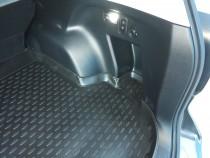 Резиновый ковер багажника Субару Форестер 4 2013 Novline