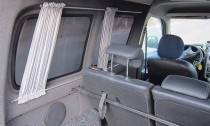 Шторки на Пежо Партнер 1 (автомобильные шторки для Peugeot Partn