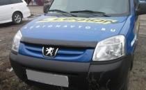 Мухобойка капота Пежо Партнер 1 (дефлектор на капот Peugeot Partner 1)