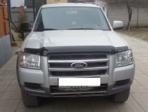 Мухобойка капота Форд Рейнджер с 2006 по 2009 (дефлектор на капот Ford Ranger 2006- года)