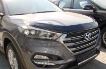 Мухобойка капота Хендай Туксон ТЛ (дефлектор на капот Hyundai Tucson TL)