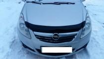 дефлектор на капот Opel Corsa D