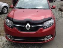 дефлектор на капот Renault Logan 2