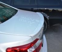 Задний лип спойлер Toyota Camry 50 (обвес Тойота Камри 50)