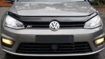 Мухобойка капота Фольксваген Гольф 7 (дефлектор на капот Volkswagen Golf 7)