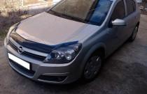 купить Дефлектор капота Опель Астра H (дефлектор на капот Opel A