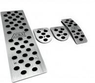 алюминиевые накладки педалей Ауди А6 С7