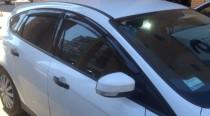 HIC Дефлекторы окон Форд Фокус 3 (ветровики Ford Focus 3)