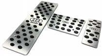 Накладки на педали Audi A6 C5 Акпп (алюминиевые накладки педалей Ауди А6 С5)