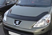 заказать Мухобойка Пежо Партнер 2 (дефлектор капота Peugeot Part