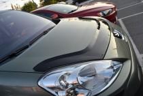 купить Мухобойка Пежо Партнер 2 (дефлектор капота Peugeot Partne