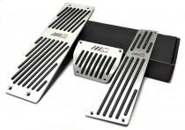 Накладки на педали Bmw X1 E84 Акпп (алюминиевые накладки педалей Бмв Х1 Е84)