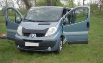 Мухобойка Renault Trafic в магазинеexpresstuning (дефлектор капо