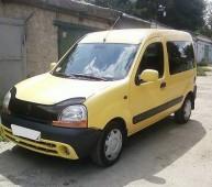 Дефлектор капота Рено Кенго 1 (мухобойка Renault Kangoo 1)