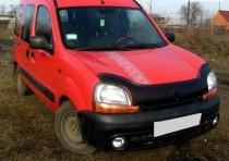 купить Дефлектор капота Рено Кангу 1 (мухобойка Renault Kangoo 1