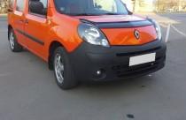 Дефлектор капота Рено Кенго 2 (мухобойка Renault Kangoo 2)
