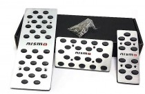 Накладки на педали Nissan Micra K13 автомат (накладки педалей для Ниссан Микра К13)
