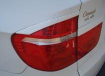 Задние реснички на Bmw X5 E70 (реснички на задние фары Бмв Х5 Е70)