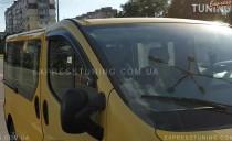 Дефлекторы окон для Рено Трафик (ветровики на Renault Trafic)