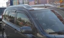 Дефлекторы окон для Ниссан Х-Трейл Т31 (ветровики на Nissan X-Trail T31)