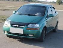 Дефлектор капота  Шевроле Авео Т200 (мухобойка Chevrolet Aveo T200)