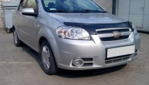 купить Мухобойка Шевроле Авео 3 (дефлектор капота Chevrolet Aveo