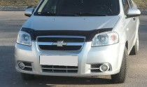 заказать Мухобойка Шевроле Авео 3 (дефлектор капота Chevrolet Av