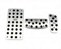 Накладки на педали Киа Церато 2 Купе Акпп (накладки педалей Kia Cerato 2 Koup)