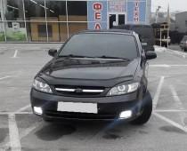 Дефлектор на капот Chevrolet Lacetti hb (мухобойка Шевроле Лачетти хэтчбек)