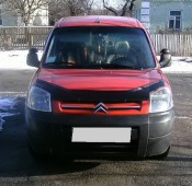 Дефлектор капота Ситроен Берлинго 1 (мухобойка Citroen Berlingo 1)