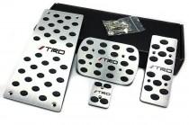 JTEC Накладки на педали Toyota Land Cruiser 200 АКПП (накладки педалей Тойота Ленд Крузер 200)