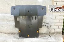 Защита двигателя Киа Рио 4 (защита картера Kia Rio 4)
