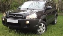 мухобойка Hyundai Tucson 1