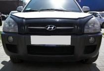 заказать Мухобойка Хендай Туксон (дефлектор капота Hyundai Tucso