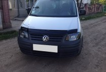 Дефлектор капота Фольксваген Кадди 3 (мухобойка Volkswagen Caddy 3)