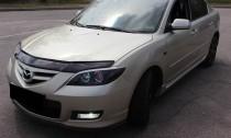 купить Дефлектор капота Мазда 3 (дефлектор на капот Mazda 3)