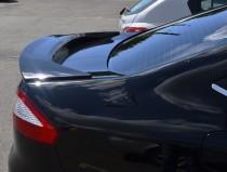 Высокий спойлер на крышку багажника Форд мондео 4 (установка)